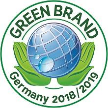 Logo © GREEN BRAND - Zur Zertifizierungsurkunde der UmweltDruckerei