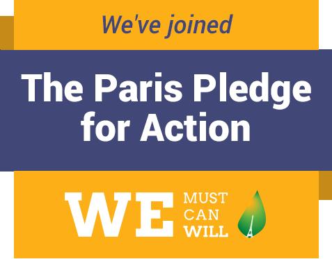 We must, we can, we will - Unser Beitrag zum Pariser Klimaabkommen