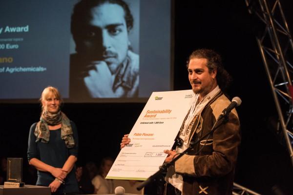 Pablo Ernesto Piovano - Gewinner des Nachhaltigkeitspreises 2016