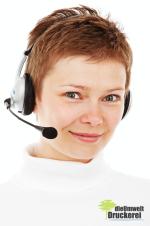 Unsere Kundenberatung freut sich weiterhin auf Ihre Bestellungen