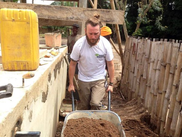 Bauarbeiten Togo