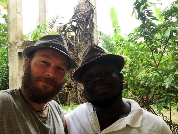 Freunde in Togo