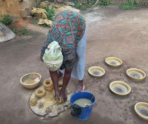 Töpfern in Togo