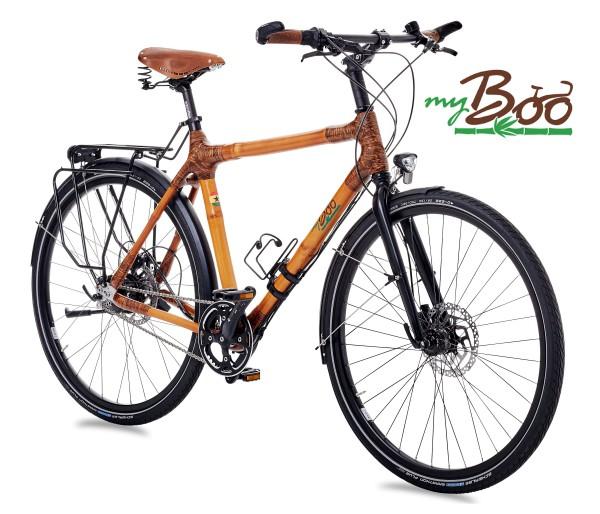 das my Afram Alfine Bambus-Fahrrad