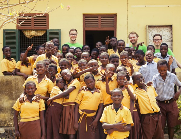 my Boo in Ghana