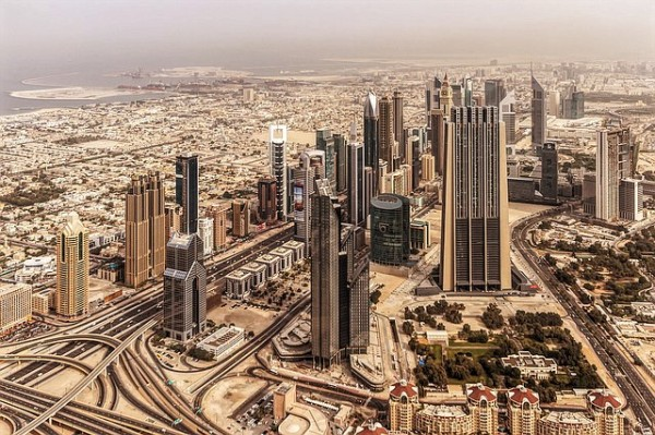 Dubais Wolkenkratzer sind teilweise mit Sand aus Australien gebaut.