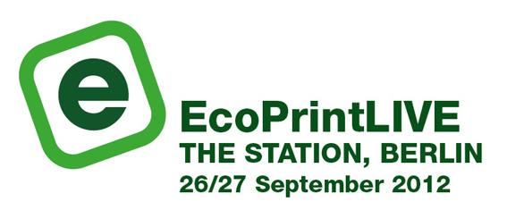 EcoPrintLIVE Berlin - dieUmweltDruckerei war dort