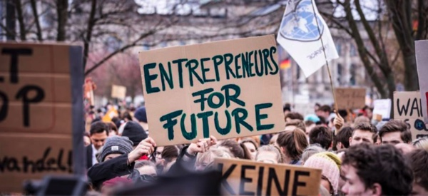 Entrepreneurs For Future streiken für den Klimaschutz