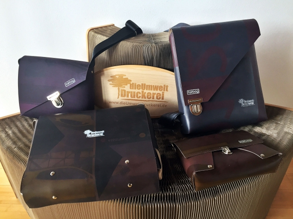fairbag-Taschen aus Drucktüchern