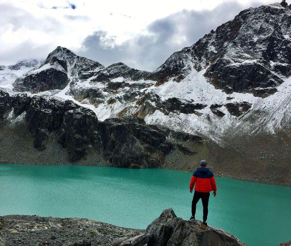 Ein Peruaner kämpft in Deutschland gegen den Klimawandel