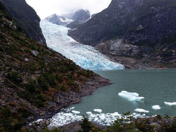 Der Klmawandel bringt Gletscher zum schmelzen