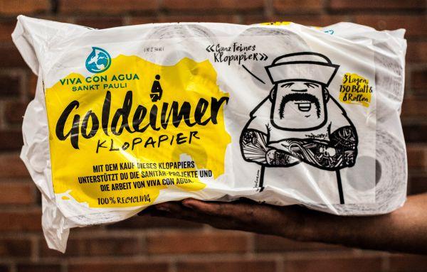 Goldeimer Klopapier: Ökologisch und sozial
