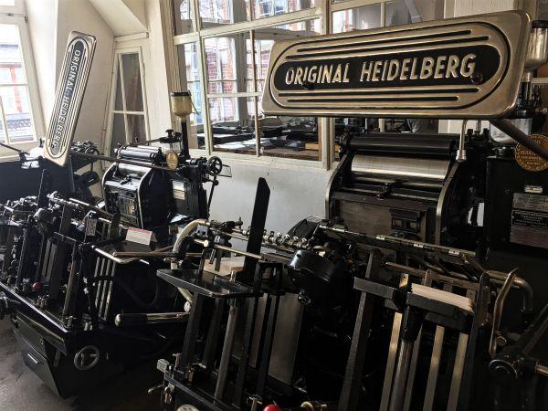 Tiegeldruckautomat - Original Heidelberg