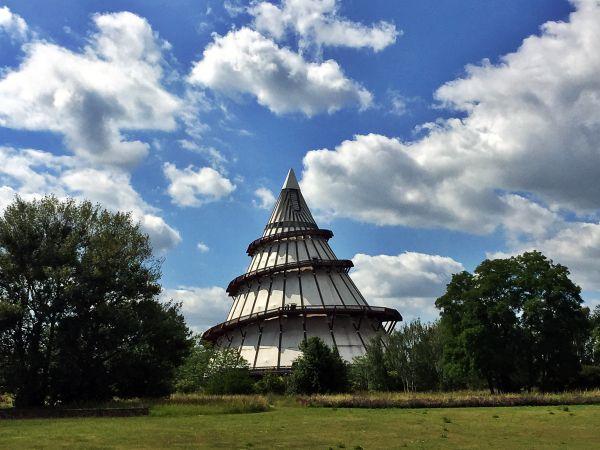 Der Jahrtausendturm in Magdeburg - Höchstes Holzgebäude der Welt