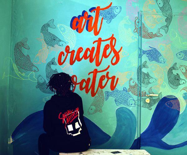 Aus Kunst wird Wasser - Art creates Water
