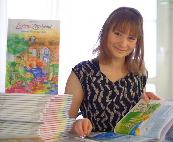 Das Kinderbuch Liselotte Zottelwind von Melina Burmeister
