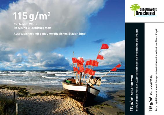 Einfach. Nachhaltig. Unsere Papiermusterbroschüre - dieUmweltDruckerei GmbH