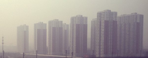 Smog in der chinesischen Metropole Peking