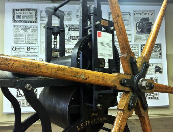 Radierpresse oder Sternradpresse