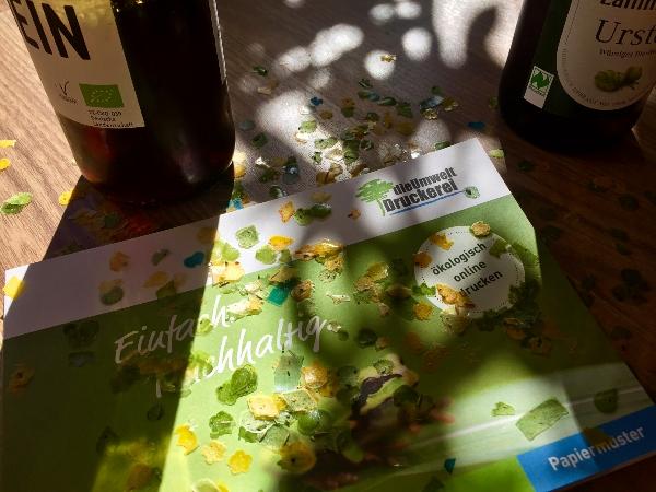 Saatgutkonfetti: Aus Samen werden Blumen