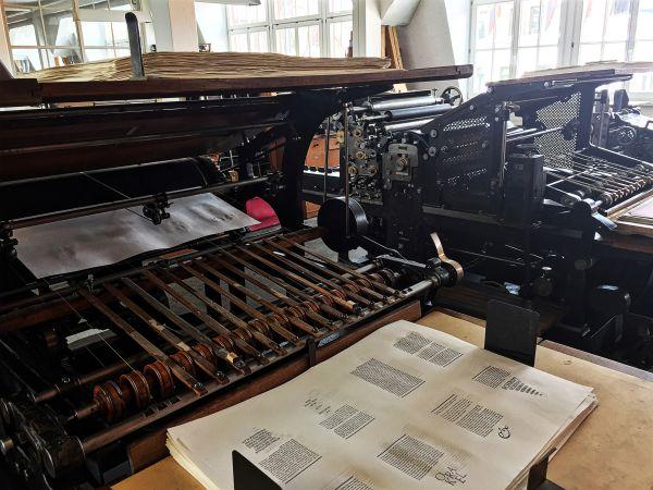 Zylinderdruckmaschine