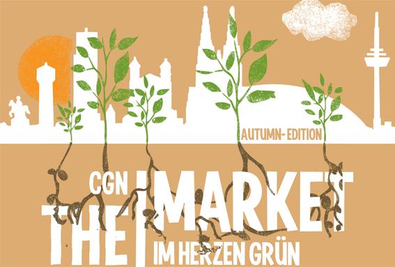 Wochenendmarkt für grünen Lifestyle in Köln - THE MARKET