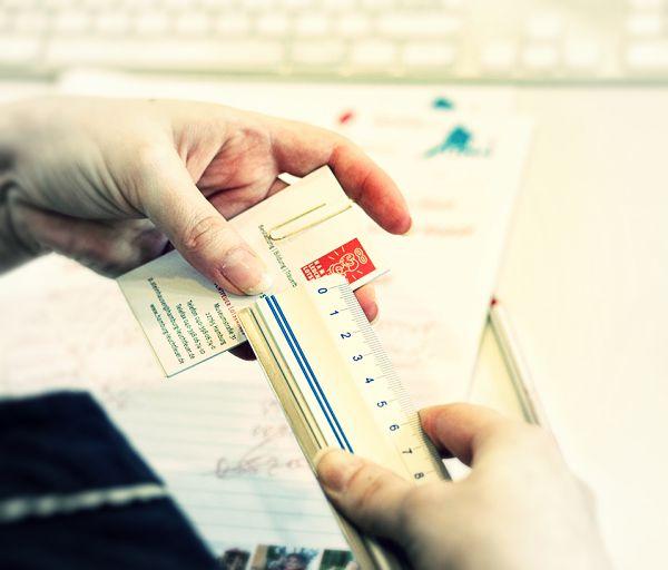 Druckdaten für die eigenen Visitenkarten erstellen