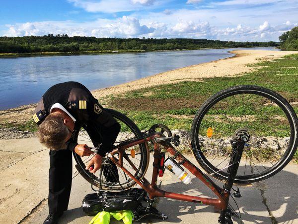 Reparatur Fahrrad