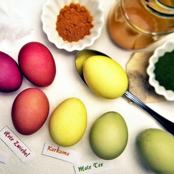 Nachhaltige Ostern: Natürlich Eier färben