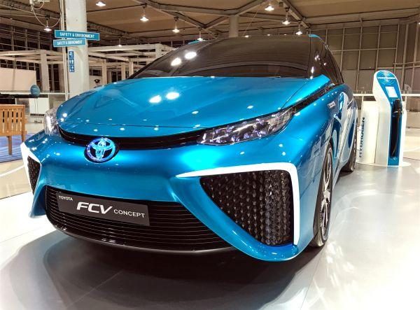 Wasserstoff-Auto von Toyota
